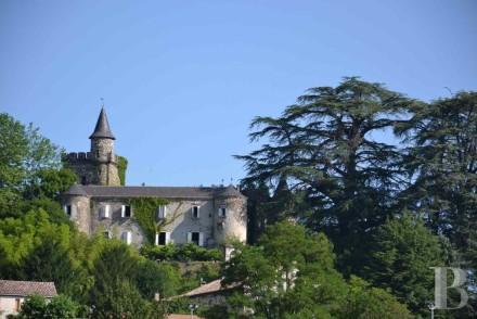 chateau with views