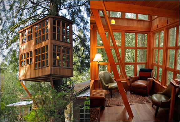tiny houses and tree house villages eco houses and sustainable living with a castle. Black Bedroom Furniture Sets. Home Design Ideas