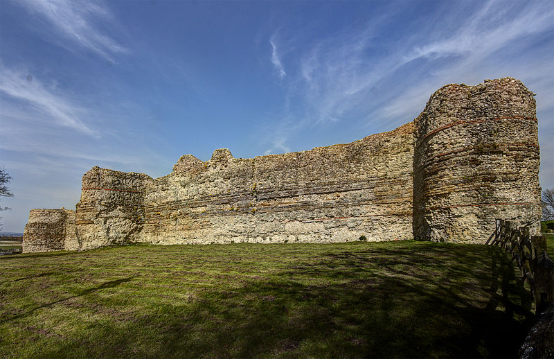pevensey west wall