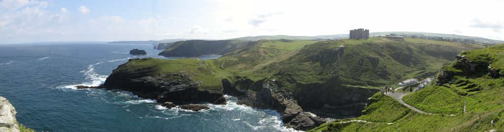tintagel panorama